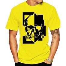 Camisa t 2020 novo verão famoso pp crânio masculino roupas tamanhos grandes