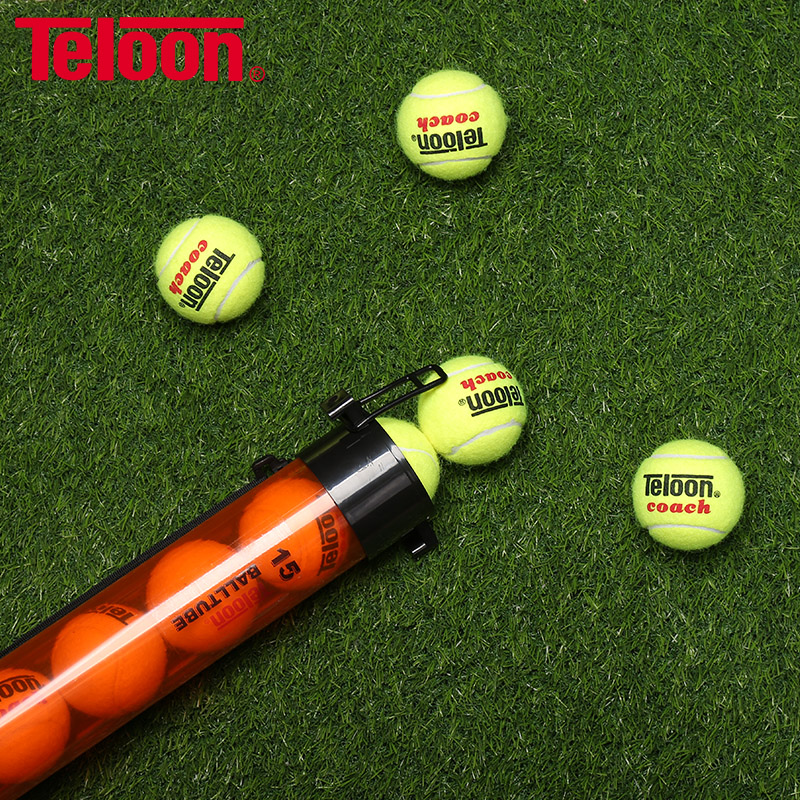 Teloon Tennis Portable Ball Tube Easy Picking-Up Balls Machine Rubber Material K007SPB