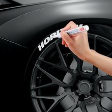 Paint Marker Pen Car Tyre Tire Waterproof Paintbrush  CD Metal Tread Permanent Paint Graffiti Touch Up Pen Stationery new car styling permanent waterproof car tyre tire metal paint marking pen bike aug24