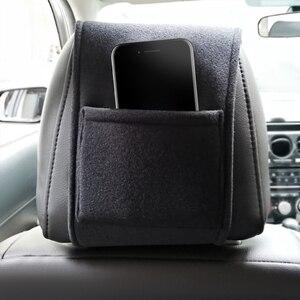 Image 5 - 1/2PCS רכב משענת ראש כיסוי רכב לוגו כרית מגן מקרה עבור איטליה אלפא רומיאו Giulia ג ולייטה 159 156 קישוט רכב סטיילינג
