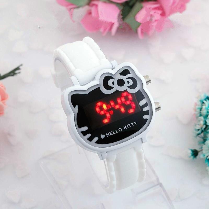 Cute LED Silicone Children's Watch Cartoon Digital Watch Girl Kids Clock Gift Drop Shipping Relogio Infantil Reloj Montre Enfant