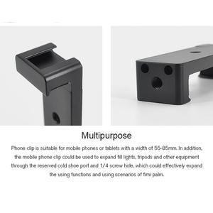 Image 3 - STARTRC el Tripod Metal telefon tutucu yuvası braketi FIMI PALM el Gimbal kamera genişletme aksesuarları