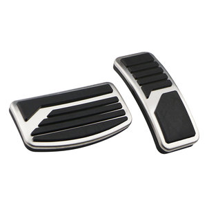 Image 3 - Stainless Steel Car Pedal Pad Cover AT MT Pedals for Mitsubishi ASX Outlander Lancer EX Eclipse Cross Pajero RU