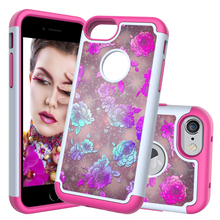 Heavy Duty Shockproof Soft TPU Case For iPhone X XR XS MAX 6 6S 7 8 Plus Silicon Back Case For apple iPod touch 5 6 7 Case for apple ipod touch 7 case silicone and pc hybrid shockproof back cover full body protection shell for ipod touch 7 case armor
