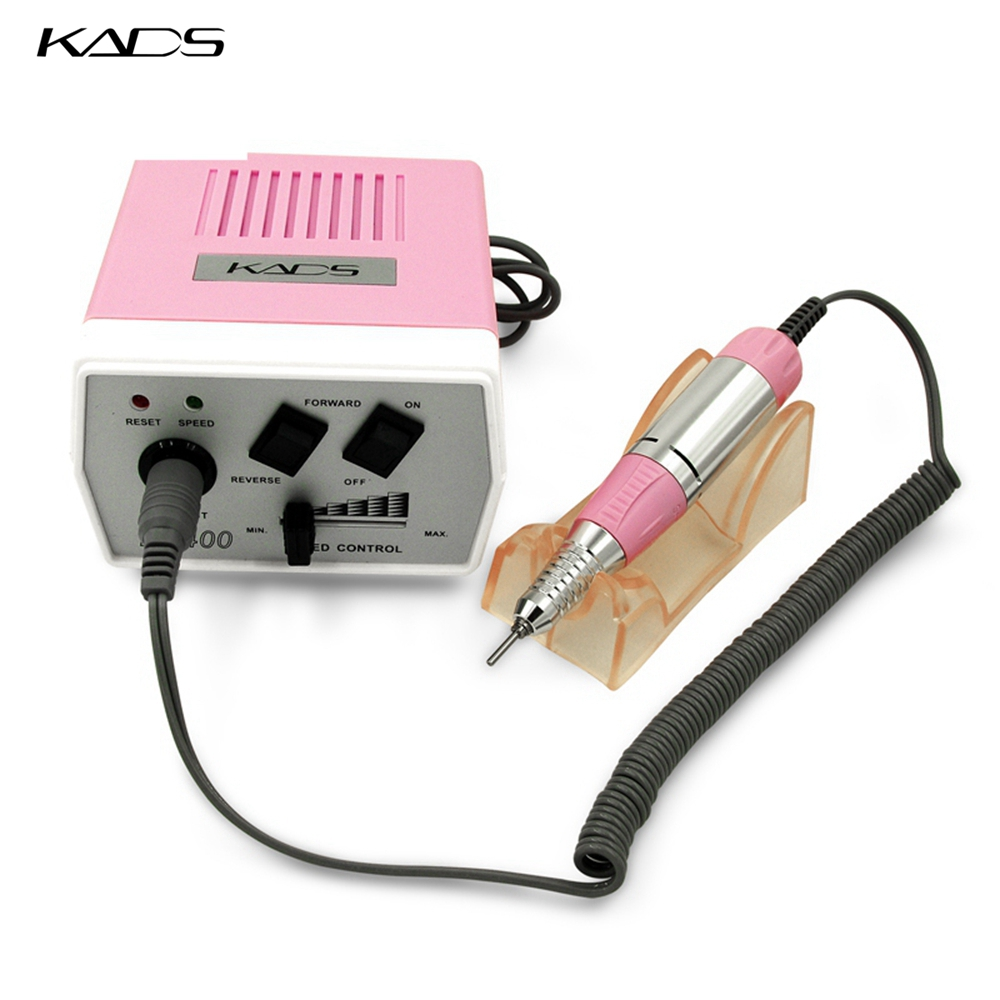 KADS 30000RPM Black nail art drill Nail Equipment Manicure Tools Pedicure Acrylics Grey Electric Nail Art Drill Pen Machine Set-in Electric Manicure Drills from Beauty & Health