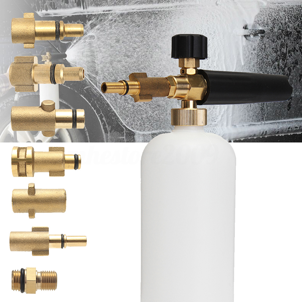 Copper High Pressure Foam Watering Can Car Wash Pump Car Wash Special Bubble Nozzle Nozzle High Pressure Cleaner Joint Snowflake