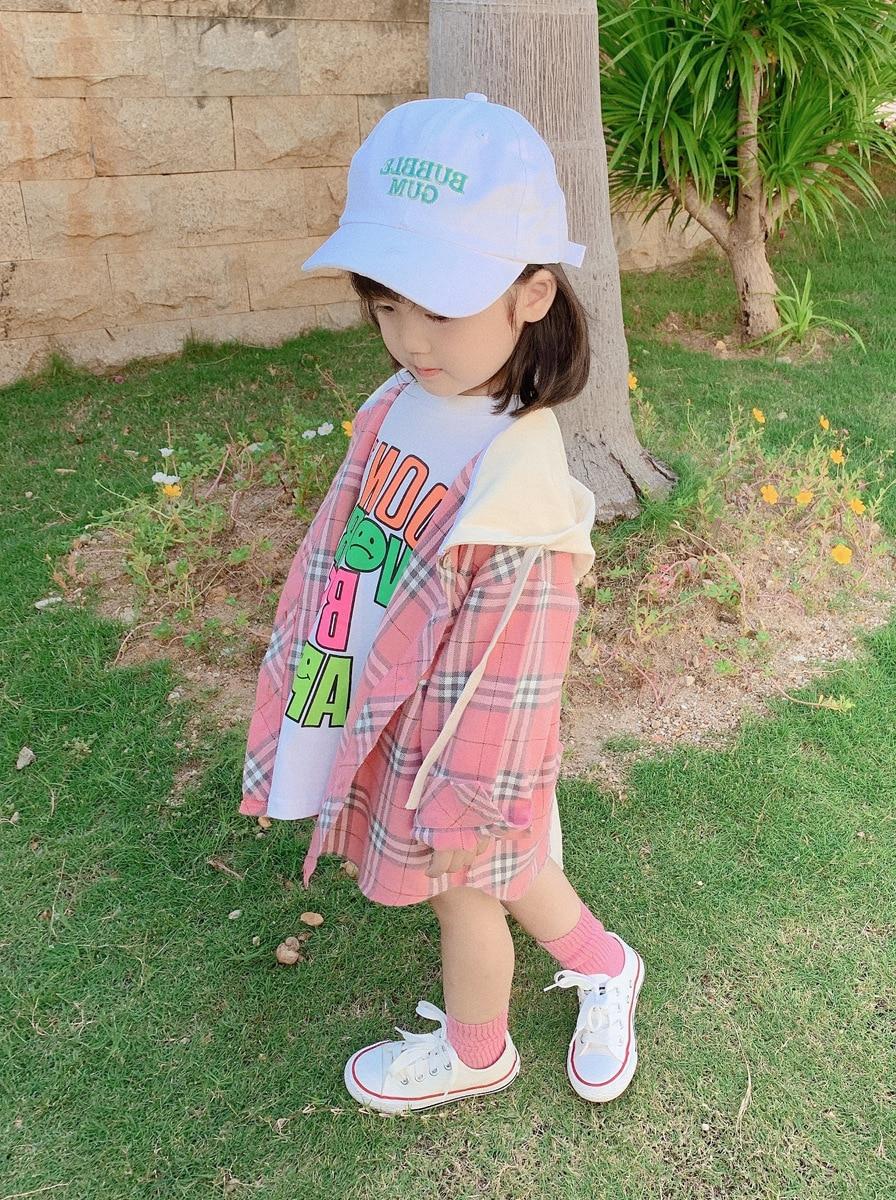 2020 Kids Clothes Girl Children Spring Autumn Long Sleeve Casual Print Cotton Dress 5