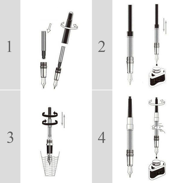 0.38mm High Quality All-Metal Lraurita Fountain Pen Kawaii Stationery Ink Pens Office School Supplies For Gift 5