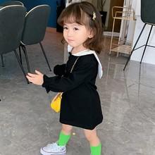 Children New Autumn 0-5T Baby Girl Dresses Cute Cartoon Print Lapel Toddler Girl Princess Long-Sleeved Sweet Princess Dress #m цены