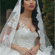 New Arrival 2m 3m 4m Cathedral Wedding Veils Long Bridal Vei