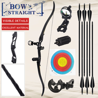 30 50 lbs Recurve Bow Bow And Arrow Archery Bow Traditional Bow Outdoor Hunting Bow Professional Long Bow For Shooting Horse Bow