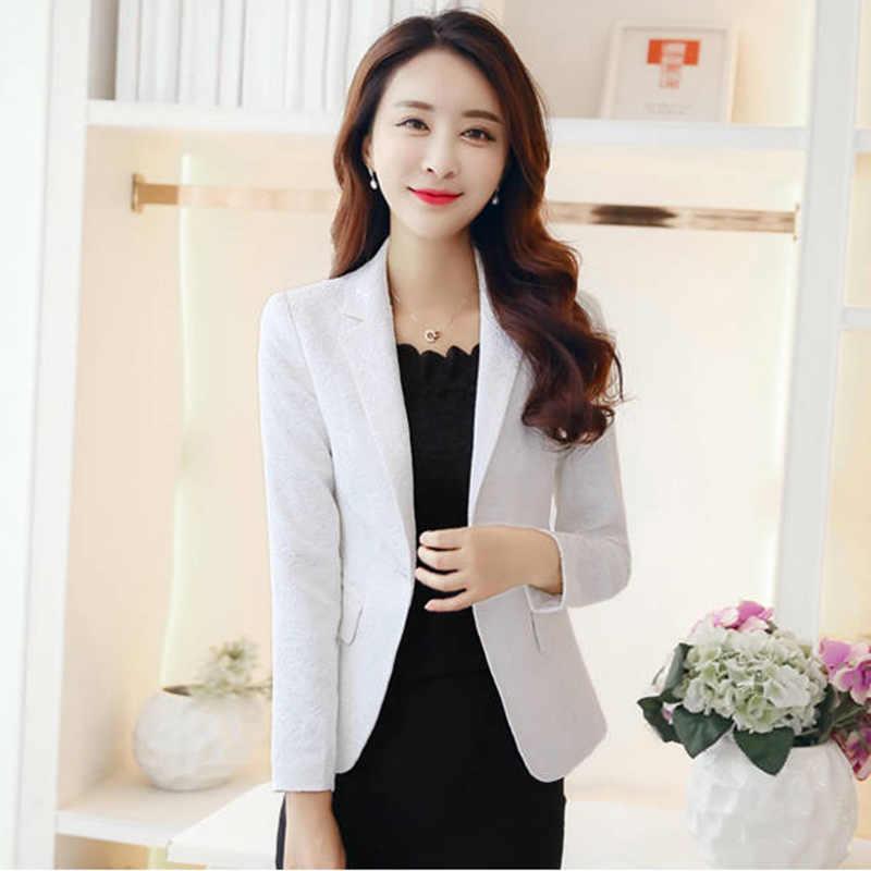 Urząd Lady elegancka wąska krótka mała marynarka Blazers New Arrival 2020 wiosna moda koreański styl damskie marynarki P256