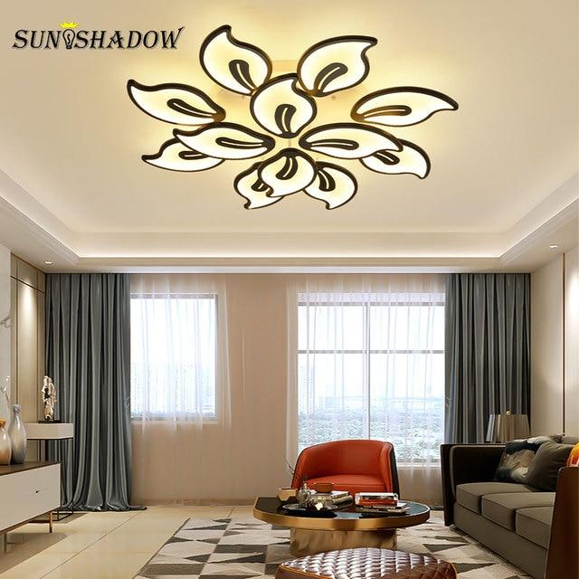 110v 220v Modern Led Ceiling Light luminaires Chandelier Ceiling Lamp for Foyer Living room Bedroom Dining room Kitchen Lighting