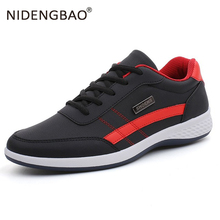 Men White running shoes Leather Male Sport Comfortable Sneakers Male Lace up Breathable Walking Casual Shoes Athletic Zapatos faux leather insert breathable athletic shoes
