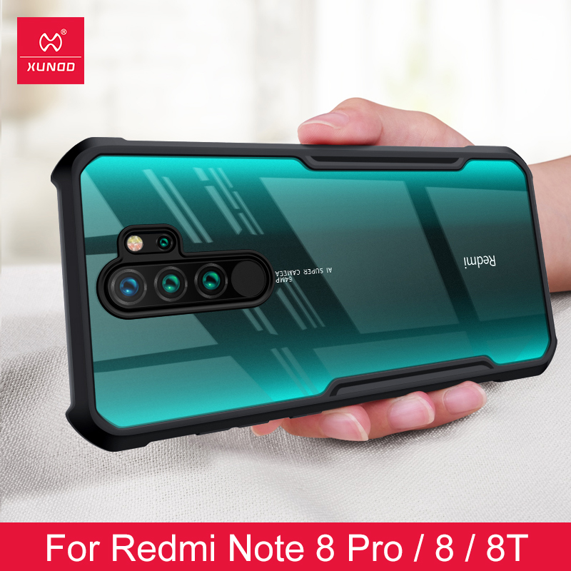 Shockproof Phone Case For Xiaomi Redmi Note 8 8pro Protective Phone Cover Xundd Transparent For Redmi Note 9S 9 Pro Max Case Fitted Cases    - AliExpress