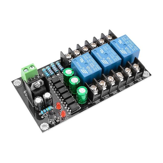 AIYIMA 300W 2,1 Kanal Klasse D Digital Verstärker Lautsprecher Schutz Bord Relais Lautsprecher Schutz Modul Boot Verzögerung DC Schützen