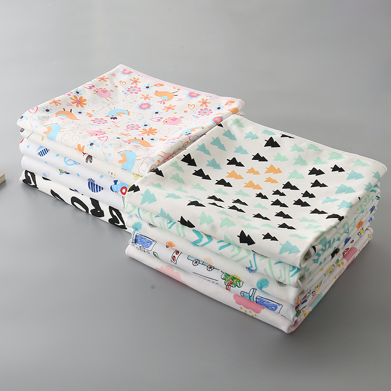 Imebaby Waterproof Baby Urine, Pad Reusable Diaper Multi-size Folding Travel Rug Baby Diaper Changing Pad50*70、60*90
