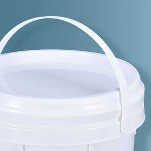 Image 4 - Seau vide en plastique 5L, avec poignée et couvercle, conteneur de stockage de liquides étanche, sans BPA, seau en PP, lot de 2 pièces