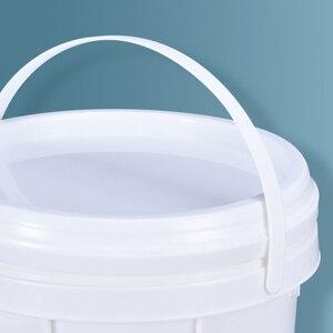 Image 4 - Trống 5L Xô Nhựa Có Tay Cầm Và Nắp Đậy Chống Rò Rỉ Chất Lỏng Khay Chứa BPA Nhựa PP Thùng Rỗ 2 Cái/lốc
