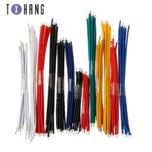 130PC 24AWG Breadboard Jumper Cable Wires Kit Tinning Double Tinned Component Pack Colorful 13 Types 10 Pcs each 5CM 8CM 10CM