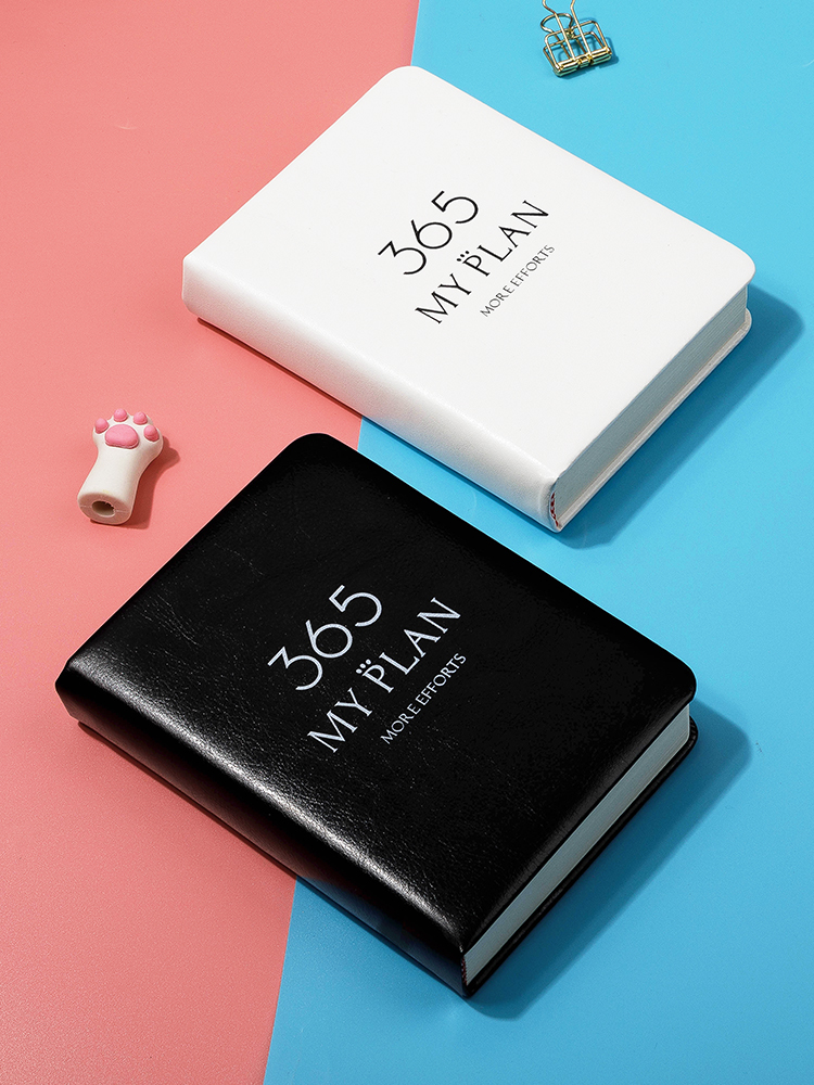 365 my plan Agenda Book Notebook Student Plan Notebook Pocket Simple Notebook Small Daily Plan Agend
