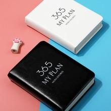 365 my plan Agenda Book Notebook Student Plan Notebook Pocket Simple Notebook Small Daily Plan Agenda 2021 Planner Organizer