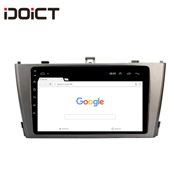 IDOICT Android 8.1 2.5D  Car DVD Player GPS Navigation Multimedia For Toyota Avensis 2009-2015 car stereo bluetooth