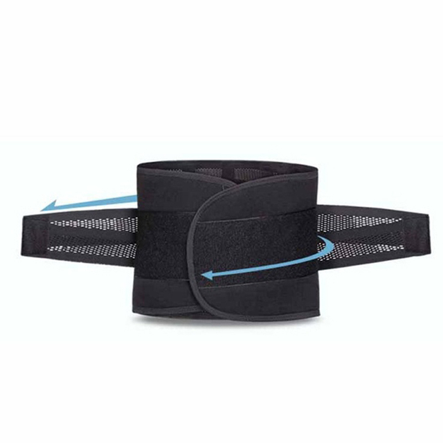 Popfeel Men's Belly Tummy Abdomen Waist Slimming Shaper Wrapper Girdle Belt Breathable Slimming Waist Trimmer Belt 2