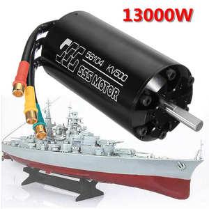 SSS 56104 KV1400 KV790 KV500 KV420 bezszczotkowy silnik 6 biegunów w/o chłodzenie wodne dla łodzi morskich RC elektryczna deska surfingowa
