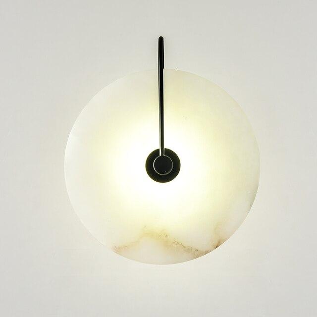 Zerouno Новый мраморный настенный светильник для комнаты 16 см 25 см светодиодный настенный светильник s черный золотой промышленный Современный Мраморный Настенный светильник светильники