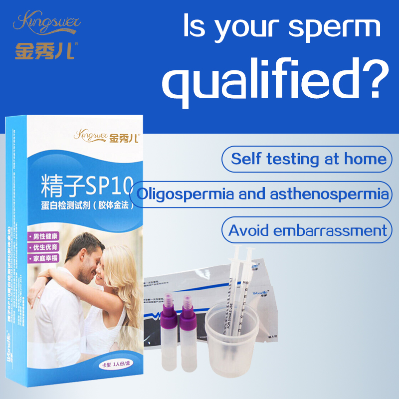 Sperma Vitaliteit Kwaliteit Test Ovulatie Zelftest Strip Mannen Mannelijke Sperma Hoge Precisie Instrument Kingsuel