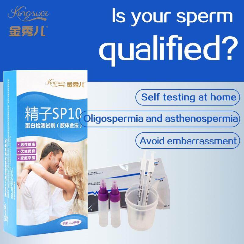 Sperm Vitality Quality Test Ovulation Self-test  Strip  Men's Male Semen High-precision Instrument Kingsuel