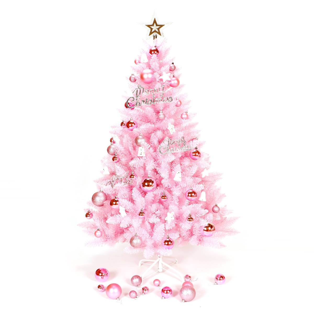 Pink Christmas Tree Package Christmas Decoration Tree Home Mangrove Celebrate Supplies Artificial Tree Ornaments for Home