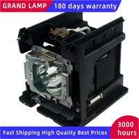5811116765-SU Ersatz Lampe mit Gehäuse für VIVITEK D5000U D-5180HD D-5185HD D-5280U D4500 180 Tage Garantie Happybate