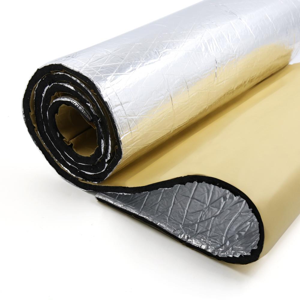 Image 4 - UXCELL 10mm Thick Aluminum Fiber Muffler Cotton Car Auto Fender Heat Sound Deadener Insulation Mat-in Sound & Heat Insulation Cotton from Automobiles & Motorcycles