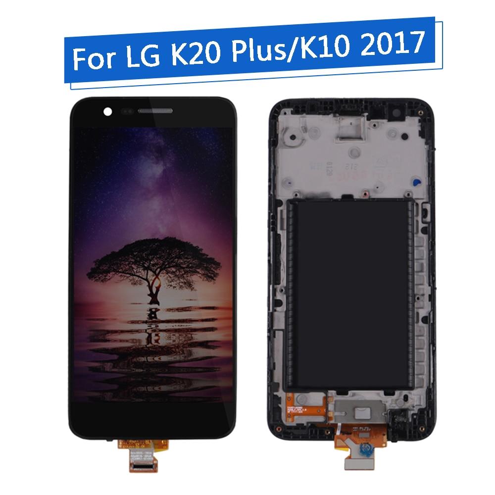 5 3 zoll LCD Display für LG K20 Plus 1280x720 Display für LG K10 2017 LCD mit Touch Screen digitalisieren Display M250 M250N M250E-in Handy-LCDs aus Handys & Telekommunikation bei title=