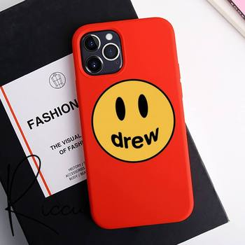 Justin Bieber drew house Phone Case for iPhone 12 pro max mini 11 pro XS MAX 8 7 6 6S Plus X 5S SE 2020 XR red case image