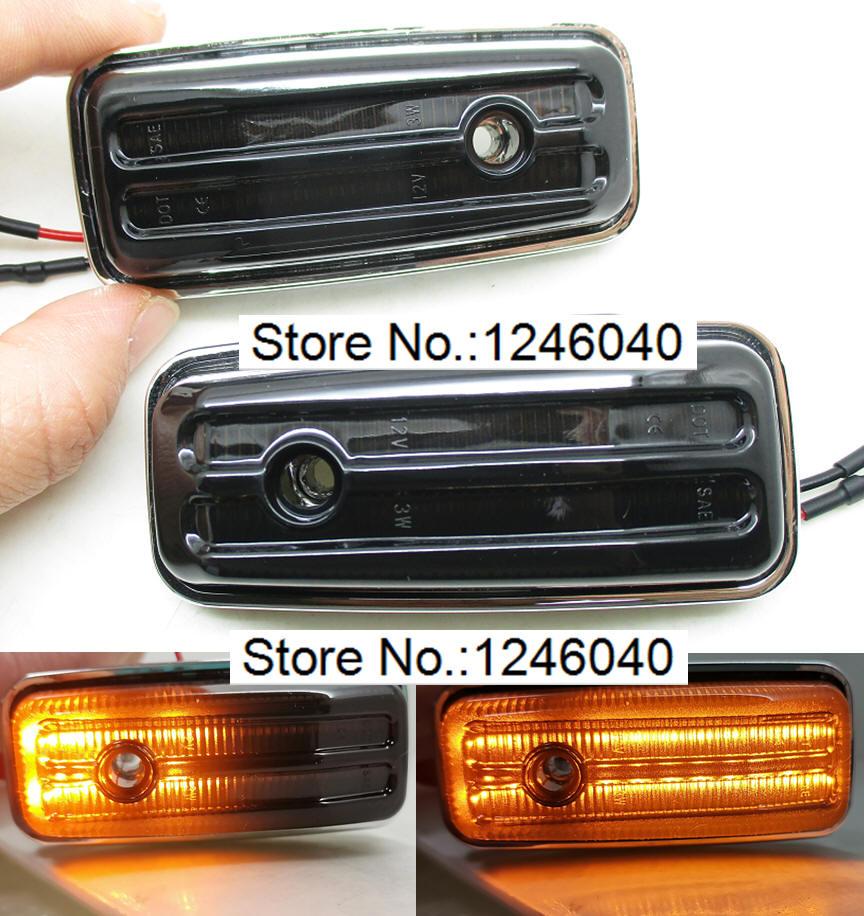 2 шт., светодиодные габаритные огни для BENZ W461 W463 G-Class G500 G550 G55 G63 G65