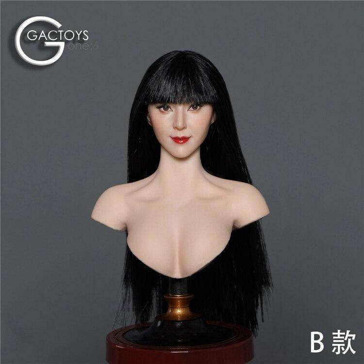 cabeça feminina de 12