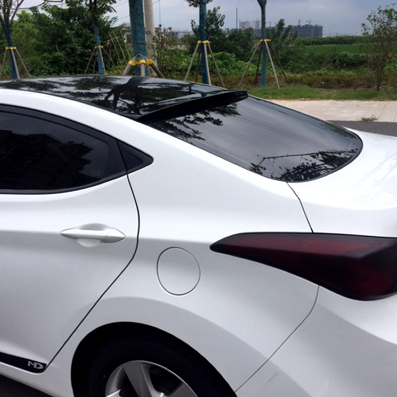 UBUYUWANT For Hyundai Elantra 2012-2015 Car Roof Spoiler ABS Material car tail wing decoration Rear Spoiler For Hyundai Elantra