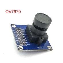 OV7670 kamera modülü OV7670 modülüsupports VGA CIF otomatik pozlama kontrolü ekran aktif büyüklüğü 640X480 Arduino için