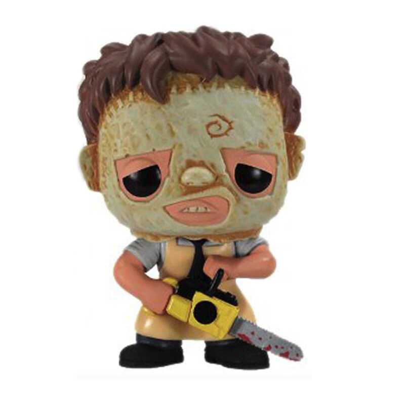 Horror Texas Chainsaw Massacre leatherface Figuur speelgoed Collectie Vinyl Pop Model Speelgoed