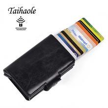 Taihaole 2020 для мужчин и женщин визитница кредитных карт металлическая