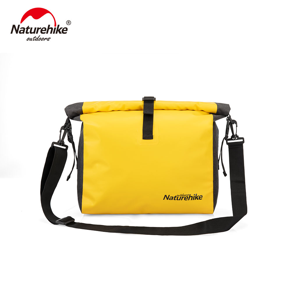 Naturehike Outdoor Waterproof Bag Travel Single-shoulder Bag Messenger Bag  Dry And Wet Separation Waterproof Bag NH19SB005