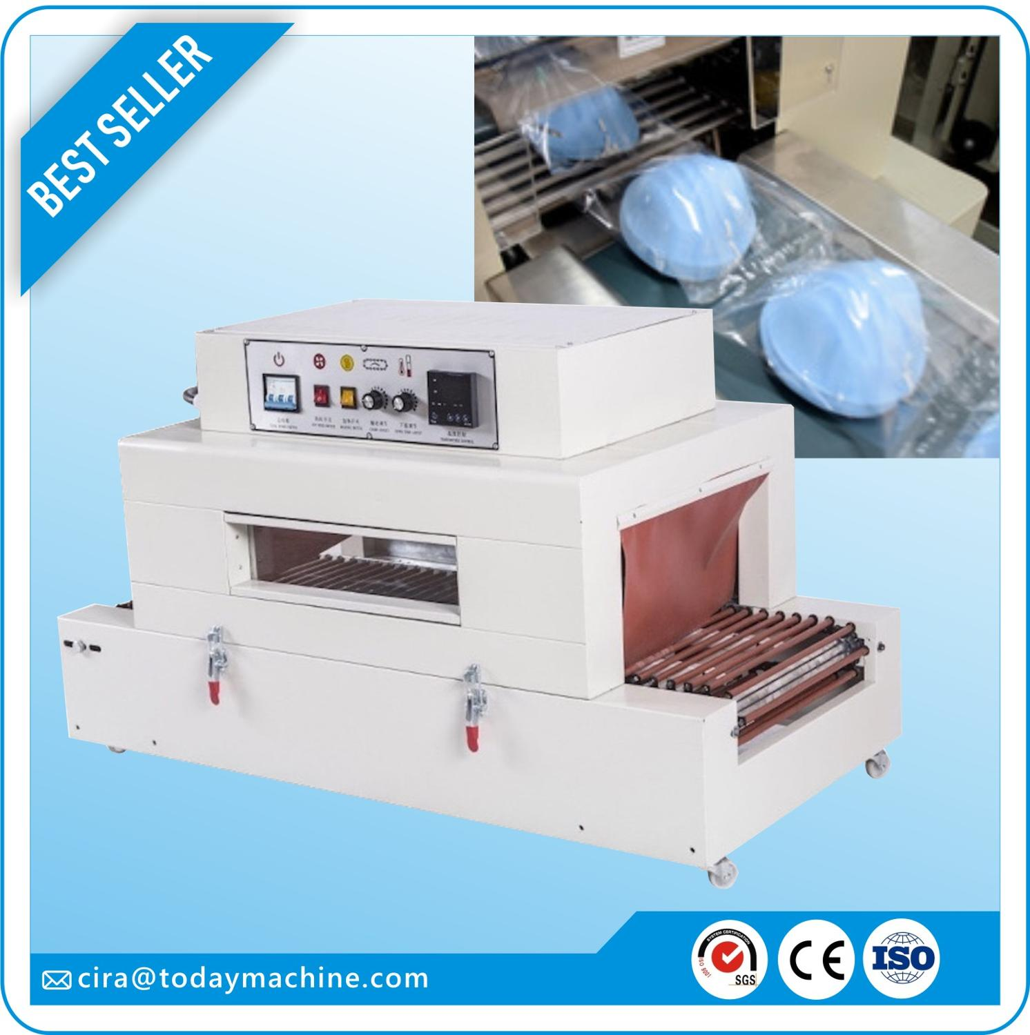 N95 Mask / Disposable Mask Sealing, Cutting And Shrinking Machine