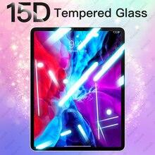15d vidro temperado para ipad pro 11 10.5 9.7 2017 2018 protetor de tela para ipad ar 4 3 2 1 mini 5 película protetora para ipad 10.2