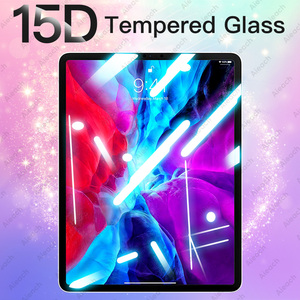 15D Tempered Glass For iPad Pro 11 10.5 9.7 2017 2018 Screen Protector For iPad Air 4 3 2 1 Mini 5 Protective Film For iPad 10.2