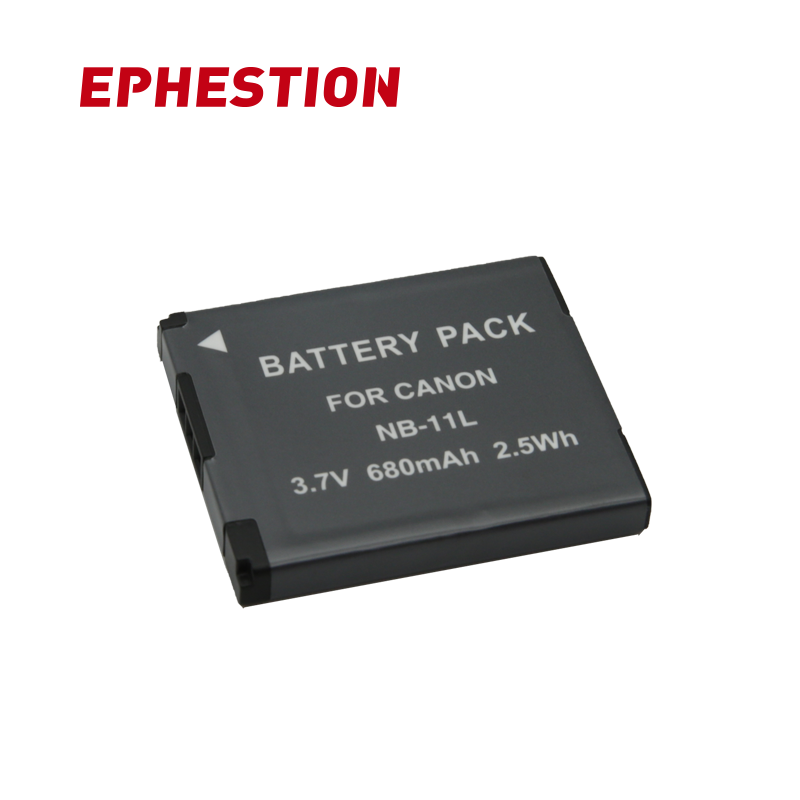 EPHESTION NB-11L Battery NB 11L NB11L For Canon A2600 A3500 A4000IS IXUS 125 132 140 240 245 265 155 HS High Capacity