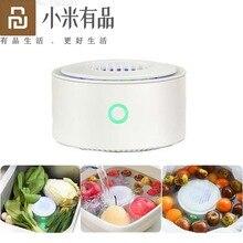 جهاز تنقية الخضروات للفواكه من Youpin لتعقيم التعقيم وإزالة بقايا المبيدات المنزلية للمطبخ والخضروات معقم الطعام