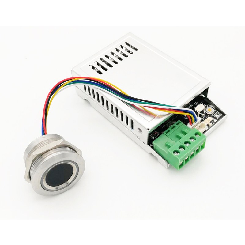 K216 Fingerprint Control Board R503 Fingerprint Module Two color Ring Indicator Light Access Control Innrech Market.com